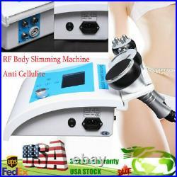 Vacuum Ultrasonic Cavitation Multipolar RF Body Slimming Machine Anti Cellulite