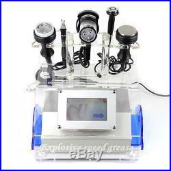 Vacuum Ultrasonic Cavitation Multipolar Radio Frequency Microcurrent RF Machine