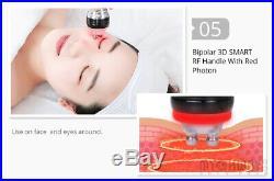 Vacuum Ultrasonic Cavitation Radio Frequency RF Facial Slimming Machine 6 IN 1