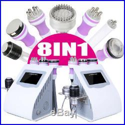 Vacuum Ultrasonic RF Cavitation 8IN1 Radio Frequency BIO Body Slimming Machine