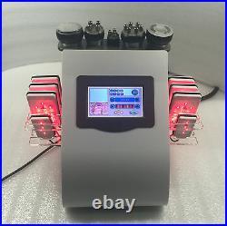Vacuum ultrasonic cavitation system laser rf lipolysis anti cellulite machine