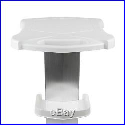 White Aluminum Trolley Cart Stand with Tray For Ultrasonic Cavitation RF Machine